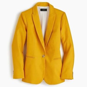 J. Crew yellow blazer